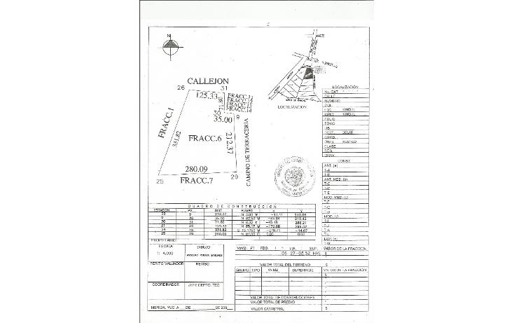 Foto de terreno habitacional en venta en  , tamchen, kinchil, yucatán, 1162299 No. 04