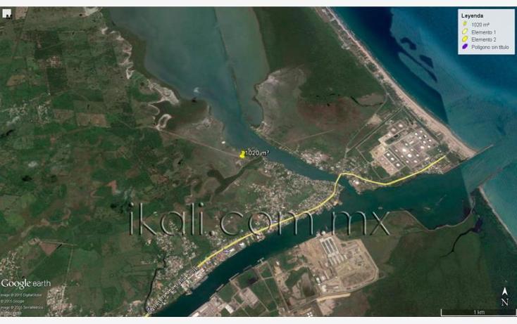 Foto de terreno habitacional en venta en  , tampamachoco, tuxpan, veracruz de ignacio de la llave, 1589312 No. 07