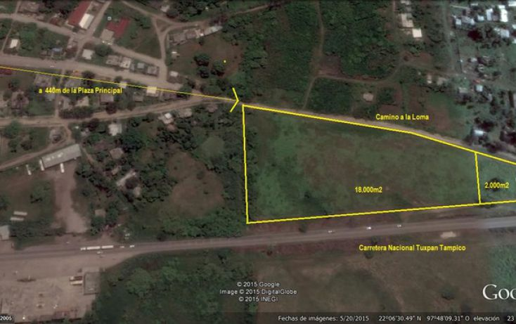 Foto de terreno habitacional en venta en, tampico alto centro, tampico alto, veracruz, 1051333 no 01