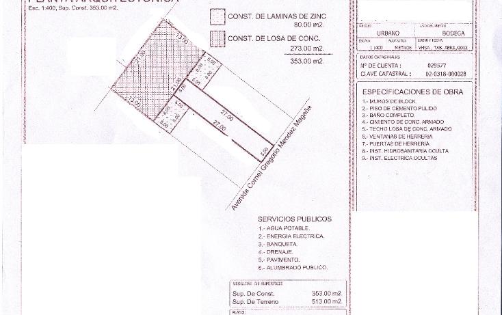 Foto de nave industrial en renta en  , tamulte de las barrancas, centro, tabasco, 1194891 No. 01
