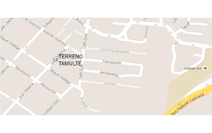 Foto de terreno habitacional en venta en  , tamulte de las barrancas, centro, tabasco, 1436397 No. 02