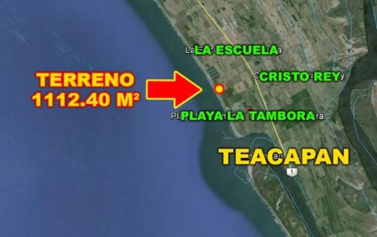 Foto de terreno habitacional en venta en playa tambora , teacapan, escuinapa, sinaloa, 1906460 No. 03
