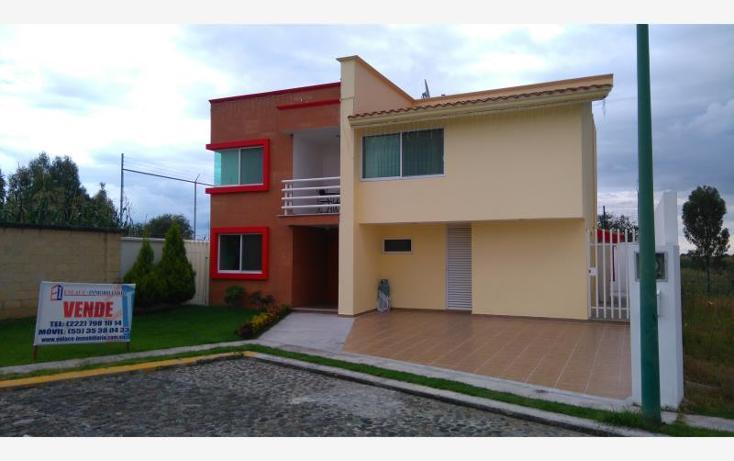 Foto de casa en venta en tejocote 78, josé ángeles, san pedro cholula, puebla, 1632736 No. 01