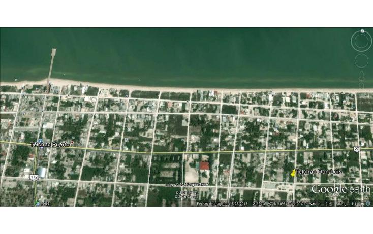 Foto de terreno habitacional en venta en  , telchac puerto, telchac puerto, yucatán, 1039759 No. 06