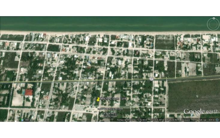 Foto de terreno habitacional en venta en  , telchac puerto, telchac puerto, yucatán, 1039759 No. 08