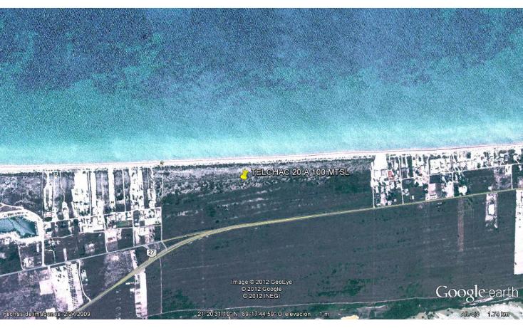 Foto de terreno habitacional en venta en  , telchac puerto, telchac puerto, yucatán, 1085579 No. 01