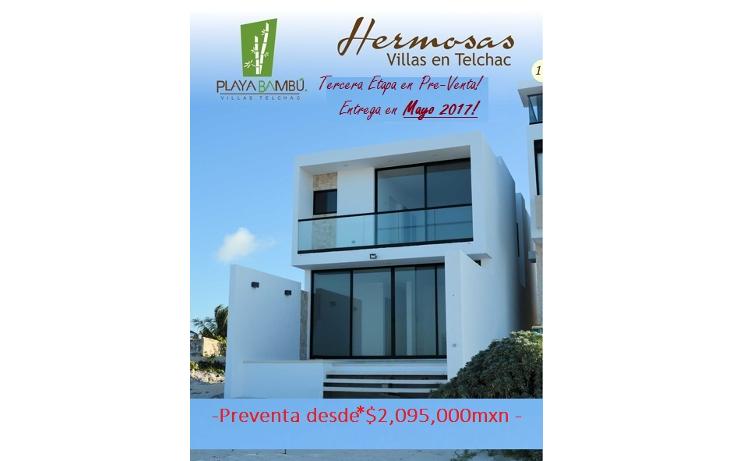 Foto de casa en venta en  , telchac puerto, telchac puerto, yucatán, 1146453 No. 15