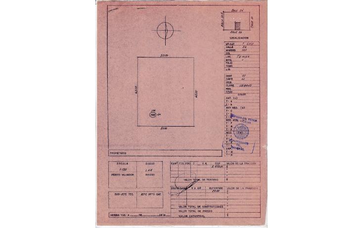 Foto de terreno habitacional en venta en  , temax, temax, yucat?n, 1205613 No. 05