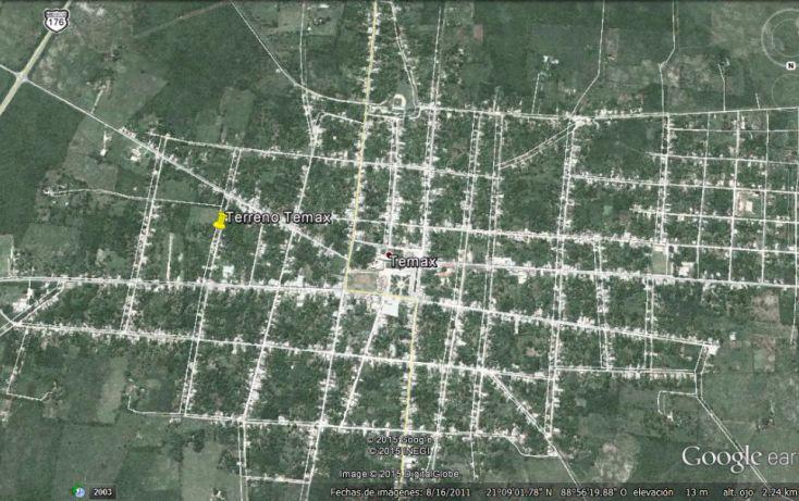 Foto de terreno comercial en venta en, temax, temax, yucatán, 1747618 no 04