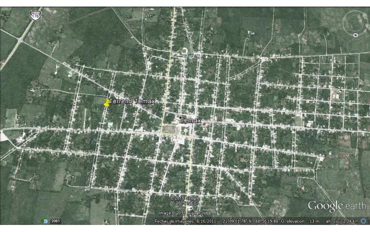Foto de terreno comercial en venta en  , temax, temax, yucat?n, 1747618 No. 04