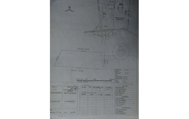 Foto de terreno habitacional en venta en  , temozon norte, mérida, yucatán, 1046963 No. 01