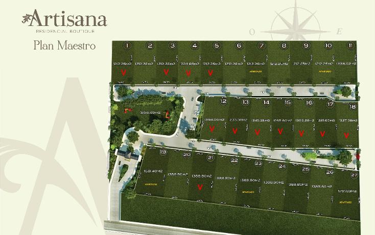Foto de terreno habitacional en venta en  , temozon norte, mérida, yucatán, 1053559 No. 04