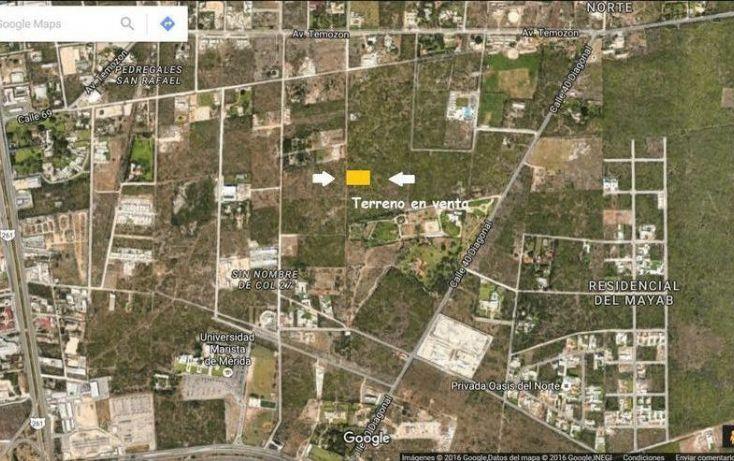 Foto de terreno habitacional en venta en, temozon norte, mérida, yucatán, 1058195 no 01