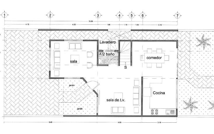 Foto de casa en venta en  , temozon norte, mérida, yucatán, 1062801 No. 04