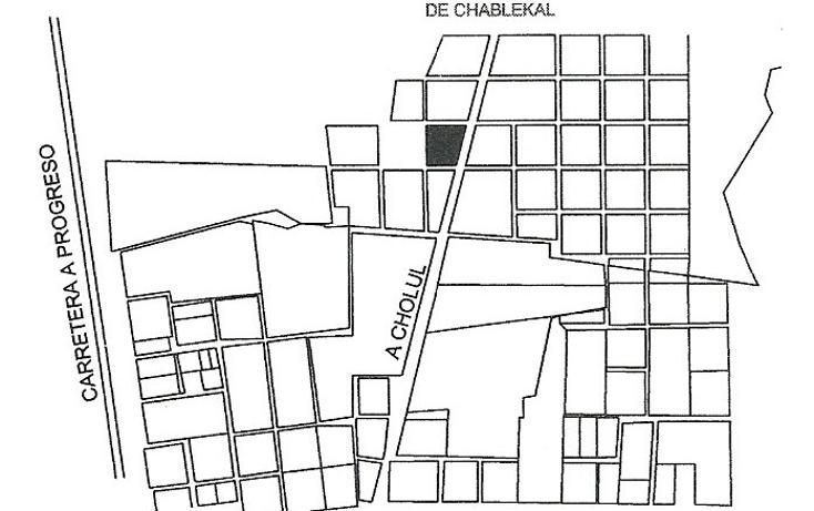 Foto de terreno habitacional en venta en  , temozon norte, m?rida, yucat?n, 1062809 No. 04