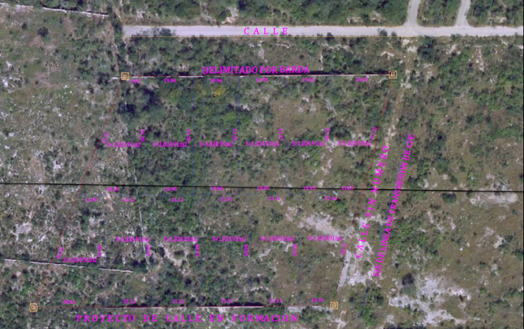 Foto de terreno habitacional en venta en  , temozon norte, m?rida, yucat?n, 1062885 No. 03