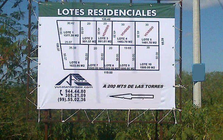 Foto de terreno habitacional en venta en, temozon norte, mérida, yucatán, 1068565 no 01
