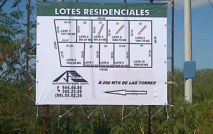 Foto de terreno habitacional en venta en  , temozon norte, mérida, yucatán, 1068565 No. 01