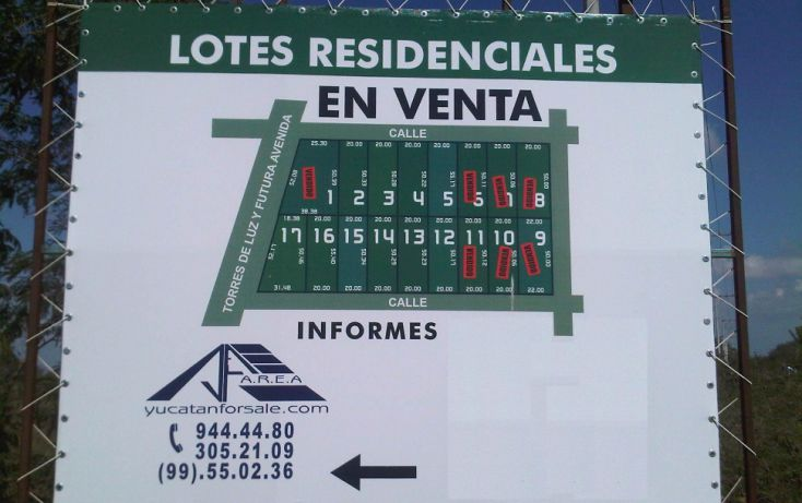 Foto de terreno habitacional en venta en, temozon norte, mérida, yucatán, 1068565 no 04