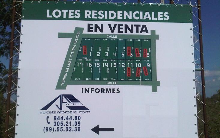 Foto de terreno habitacional en venta en  , temozon norte, mérida, yucatán, 1068565 No. 04