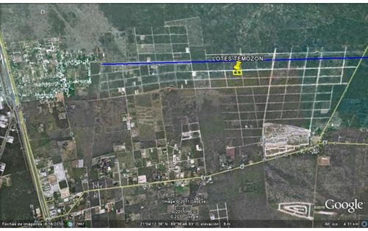 Foto de terreno habitacional en venta en  , temozon norte, m?rida, yucat?n, 1069365 No. 02