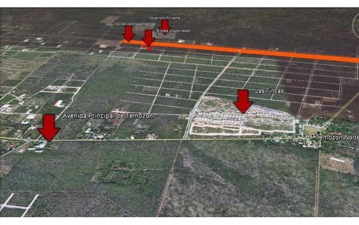 Foto de terreno habitacional en venta en  , temozon norte, mérida, yucatán, 1085439 No. 03