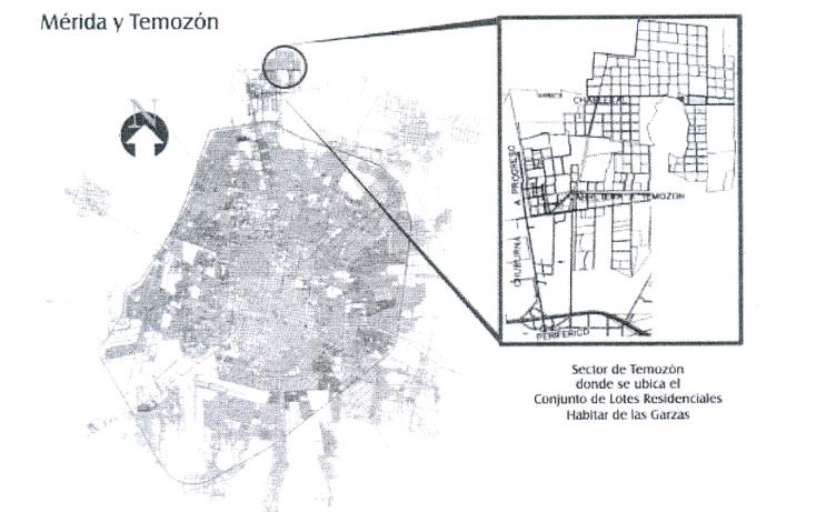 Foto de terreno habitacional en venta en  , temozon norte, mérida, yucatán, 1109939 No. 02