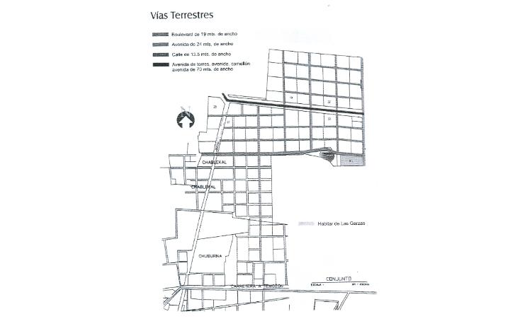 Foto de terreno habitacional en venta en  , temozon norte, mérida, yucatán, 1109939 No. 03
