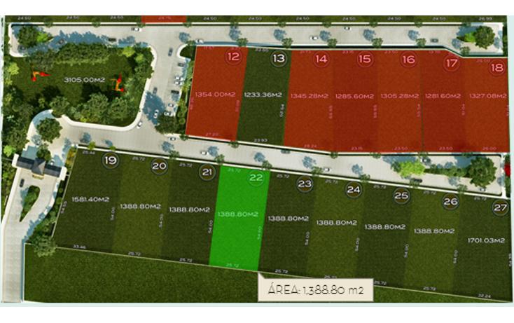 Foto de terreno habitacional en venta en  , temozon norte, mérida, yucatán, 1113709 No. 02