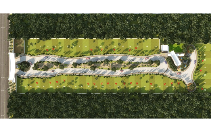 Foto de terreno habitacional en venta en  , temozon norte, mérida, yucatán, 1122069 No. 04
