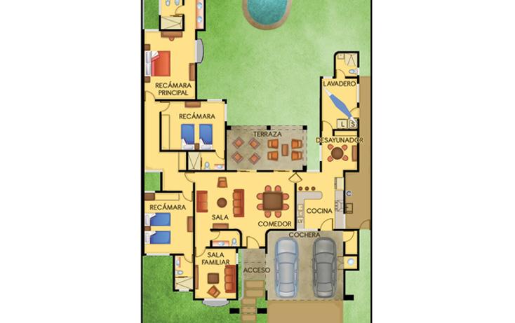Foto de casa en venta en  , temozon norte, m?rida, yucat?n, 1165805 No. 02