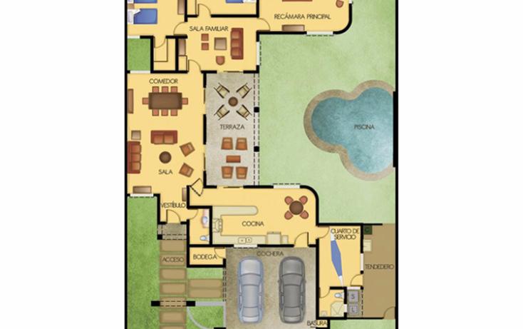 Foto de casa en venta en  , temozon norte, m?rida, yucat?n, 1165805 No. 06