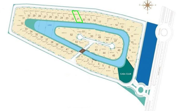 Foto de terreno habitacional en venta en, temozon norte, mérida, yucatán, 1171079 no 02