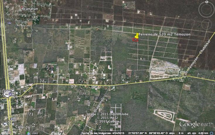 Foto de terreno habitacional en venta en  , temozon norte, mérida, yucatán, 1173237 No. 02
