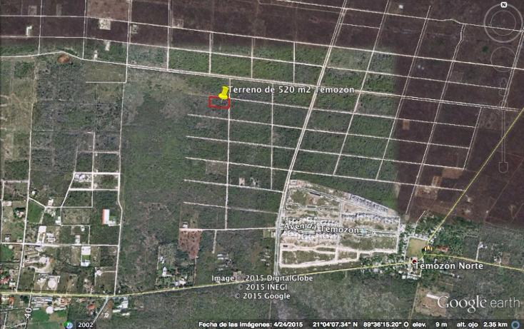 Foto de terreno habitacional en venta en  , temozon norte, mérida, yucatán, 1173237 No. 04