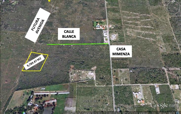 Foto de terreno habitacional en venta en  , temozon norte, mérida, yucatán, 1183735 No. 02