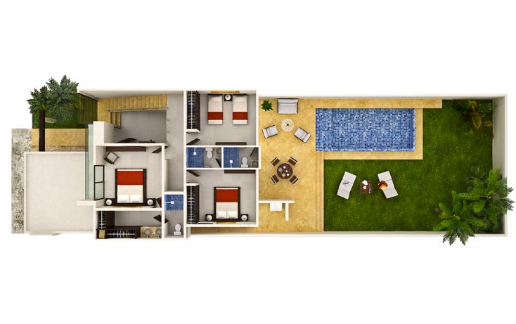 Foto de casa en venta en  , temozon norte, m?rida, yucat?n, 1192415 No. 12