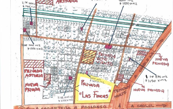 Foto de terreno habitacional en venta en  , temozon norte, m?rida, yucat?n, 1225769 No. 01