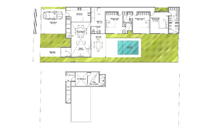 Foto de casa en venta en  , temozon norte, m?rida, yucat?n, 1237979 No. 09