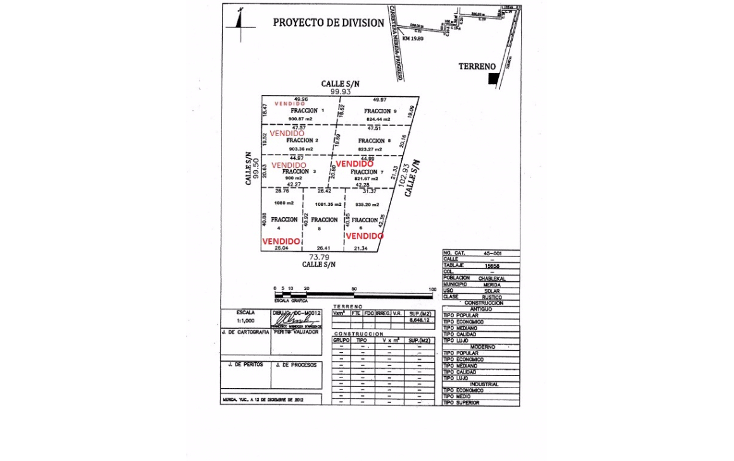 Foto de terreno habitacional en venta en  , temozon norte, m?rida, yucat?n, 1258613 No. 01