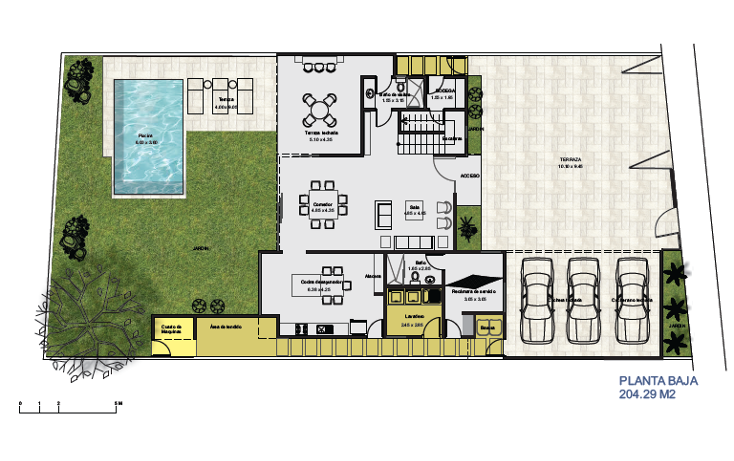 Foto de casa en venta en  , temozon norte, mérida, yucatán, 1259147 No. 08