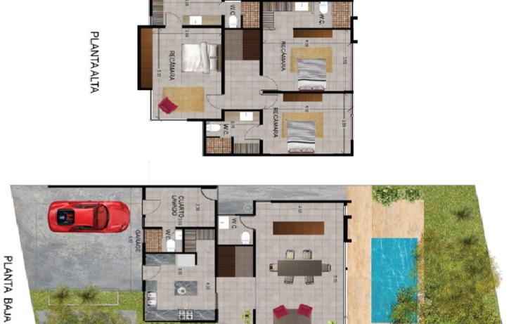 Foto de casa en venta en  , temozon norte, mérida, yucatán, 1260781 No. 03