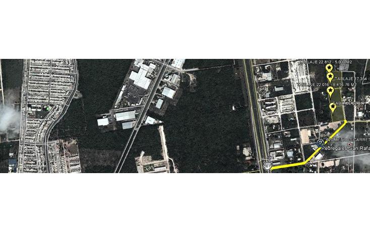Foto de terreno habitacional en venta en  , temozon norte, m?rida, yucat?n, 1261931 No. 01