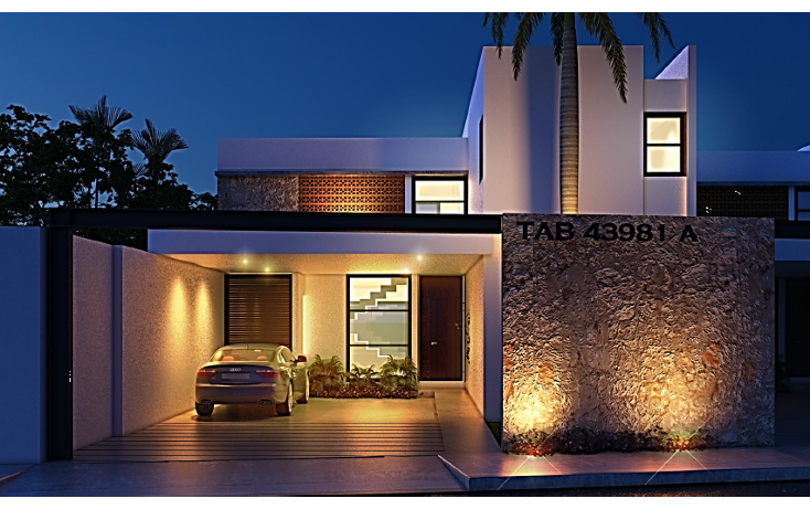 Foto de casa en venta en  , temozon norte, m?rida, yucat?n, 1275611 No. 02