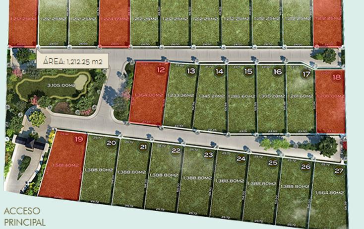 Foto de terreno habitacional en venta en  , temozon norte, m?rida, yucat?n, 1281981 No. 01