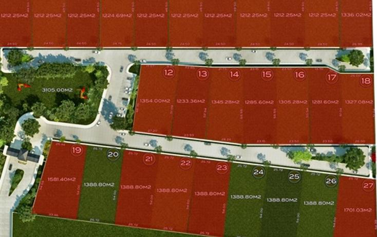 Foto de terreno habitacional en venta en  , temozon norte, m?rida, yucat?n, 1285529 No. 04