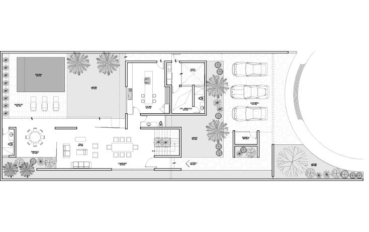 Foto de casa en venta en  , temozon norte, mérida, yucatán, 1286717 No. 04