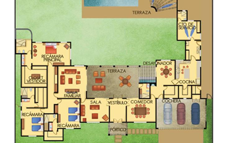 Foto de casa en venta en  , temozon norte, mérida, yucatán, 1287045 No. 04