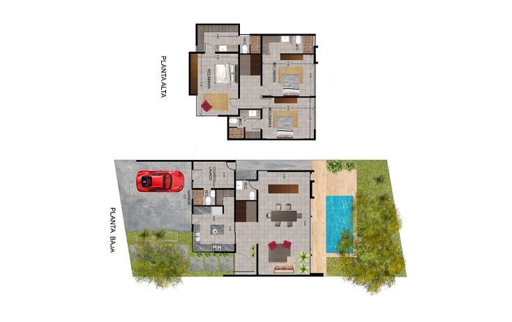 Foto de casa en venta en  , temozon norte, mérida, yucatán, 1289647 No. 05
