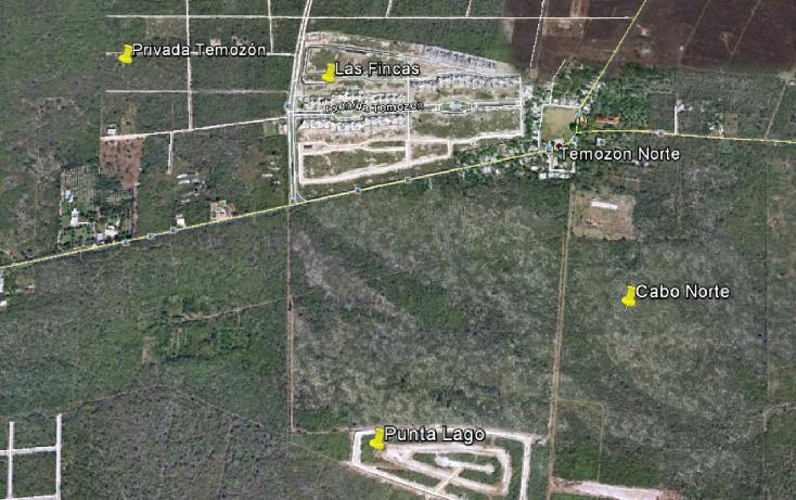 Foto de terreno habitacional en venta en  , temozon norte, mérida, yucatán, 1291395 No. 02